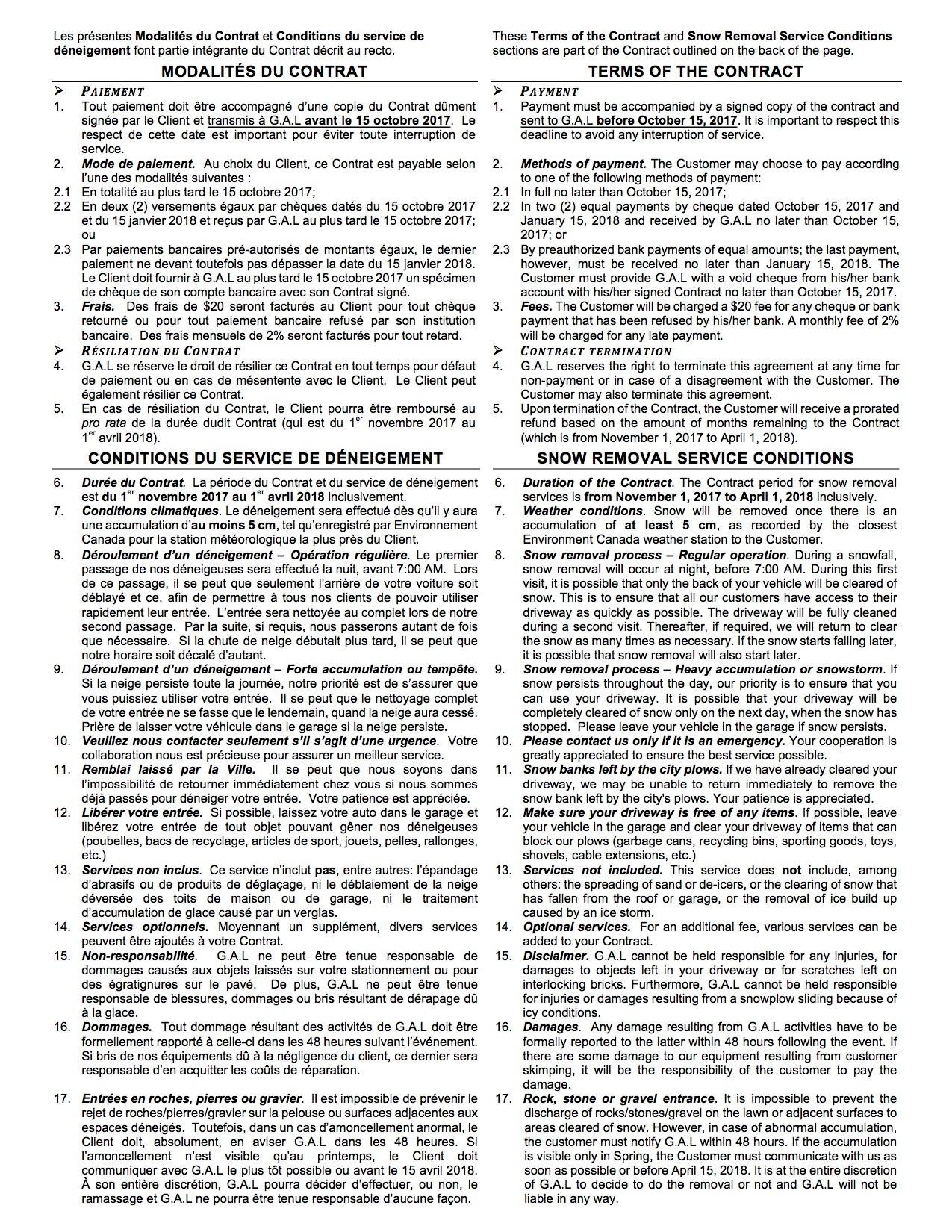 Verso Contrat G.A.L 2017-2018